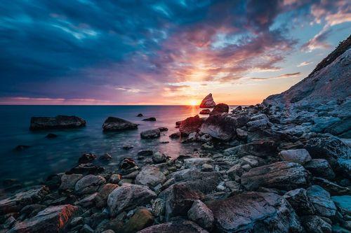 Spiaggia della Vela, Portonovo, Italy