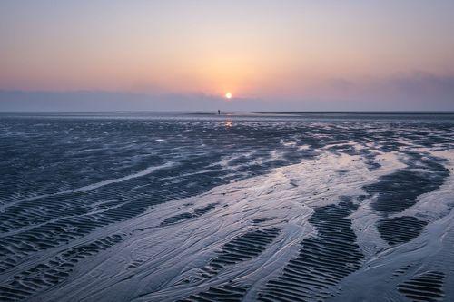 Sandymount Beach, Dublin, Ireland